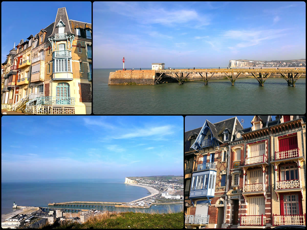 Le Treport Collage