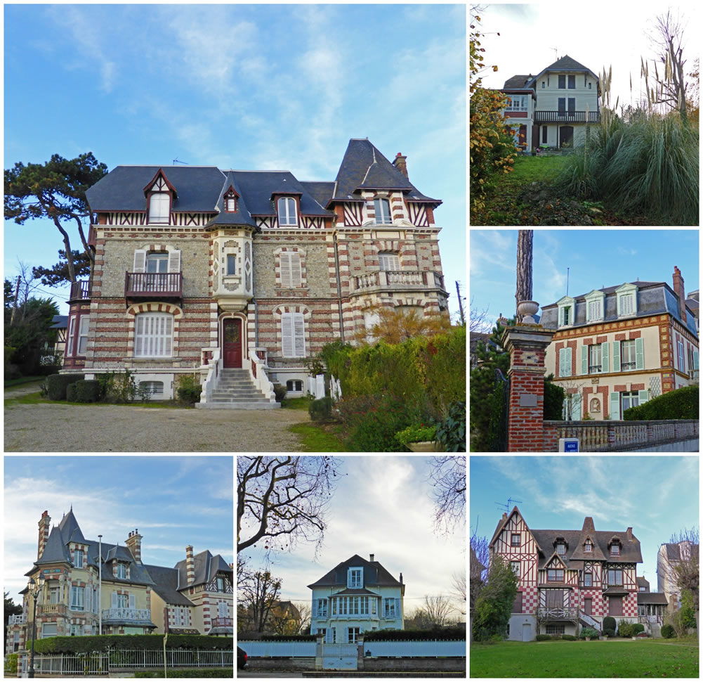 Cabourg villas Belle Epoque