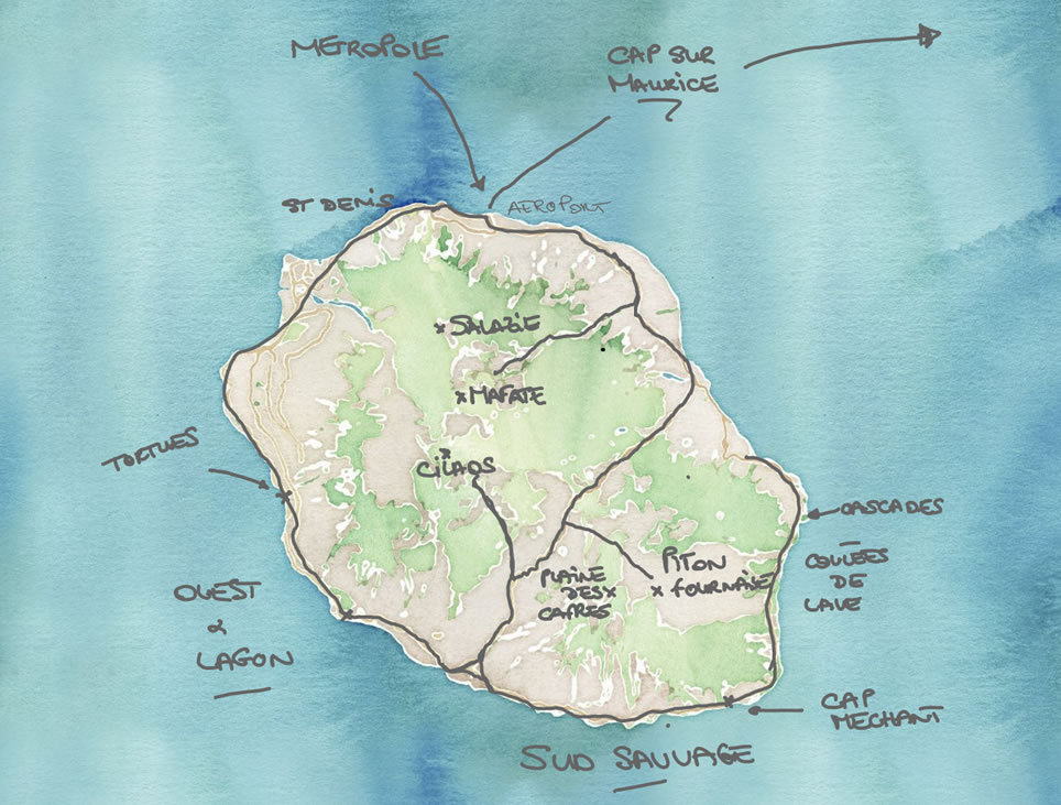 Reunion-Maurice: carnet de voyage