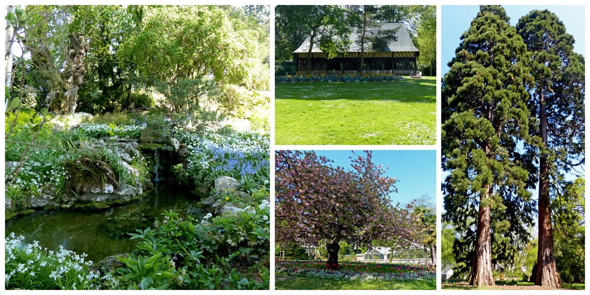 Jardin des plantes Ouest