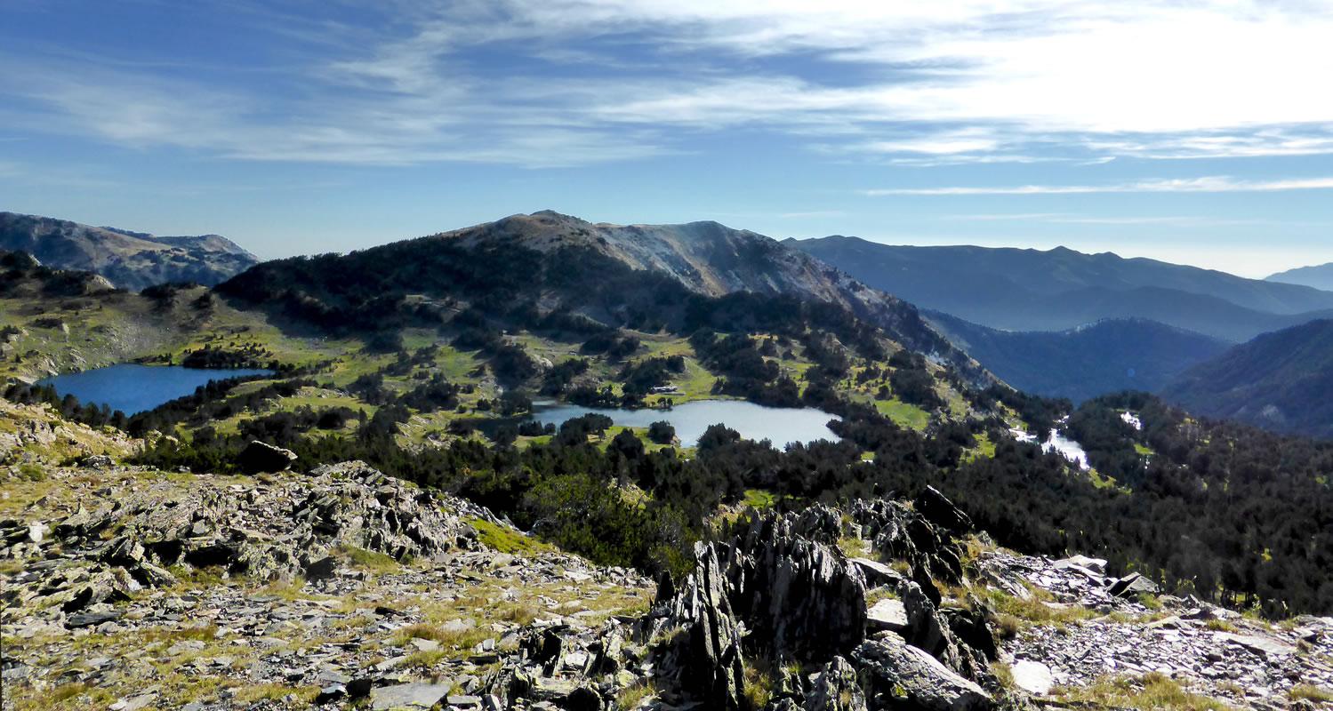 Trek 2 jours lacs des camporells pyr n es catalanes - Les pyrenees catalanes ...