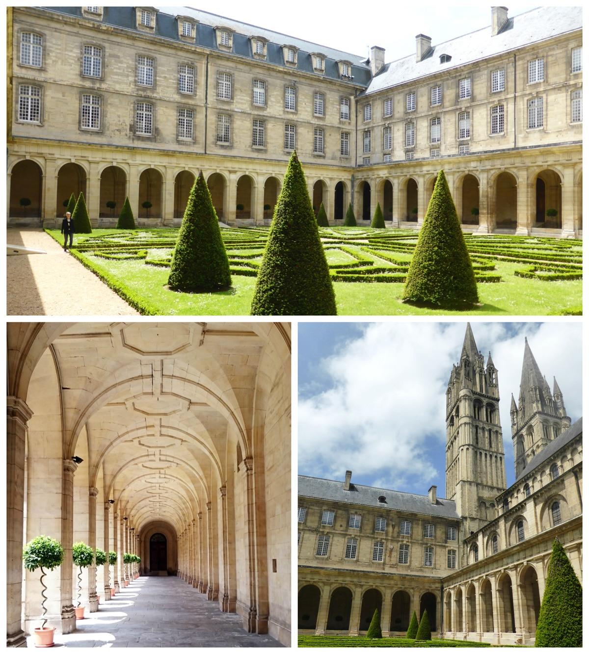 Decouvrir_Caen_Calvados_Normandie_AbbayeHommes_cloitre