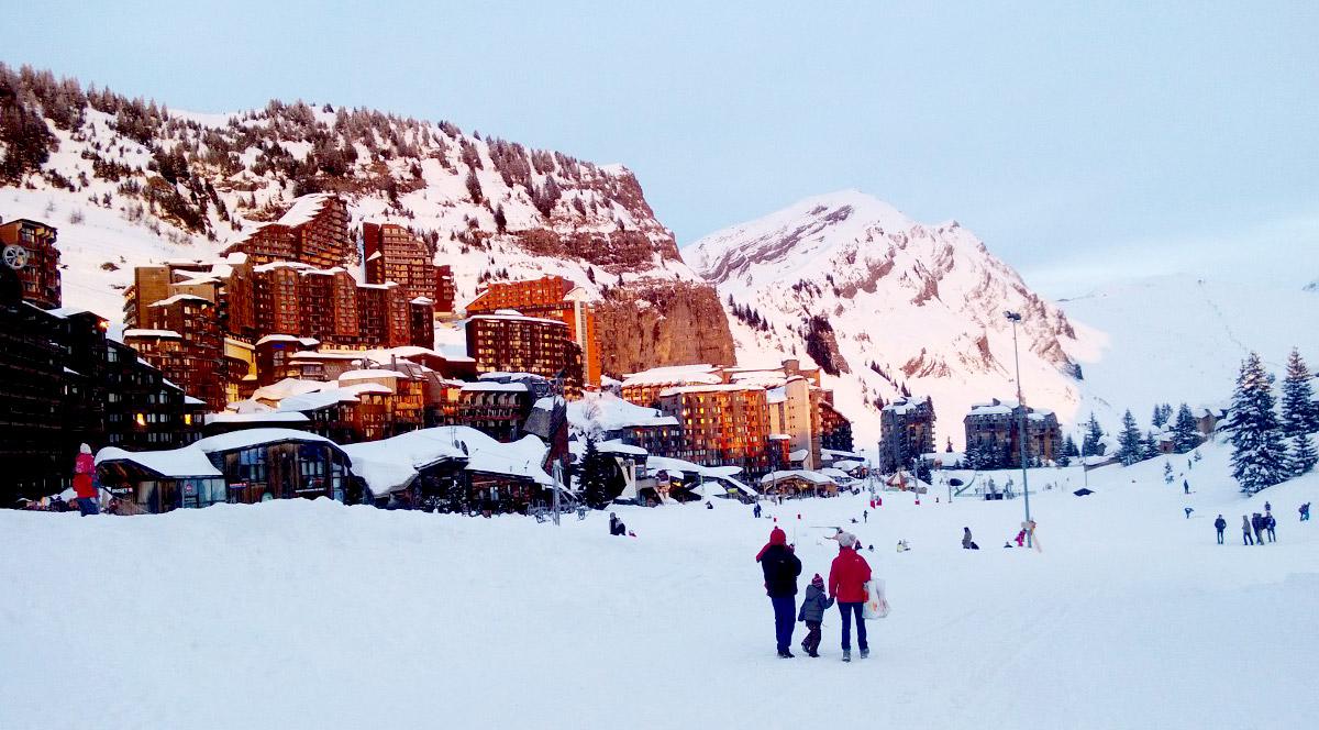 La montagne en hiver - Neige à Avoriaz en Savoie | La station d'Avoriaz