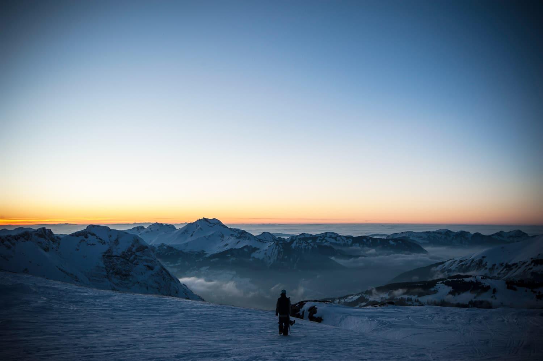 La montagne en hiver - Neige à Avoriaz en Savoie | Les superbes paysages de montagne par Pierre