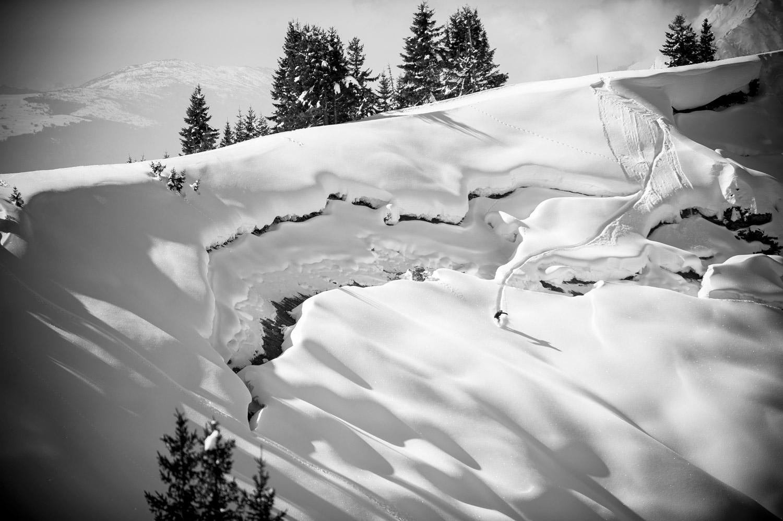 La montagne en hiver - Neige à Avoriaz en Savoie | Snowboard par Pierre